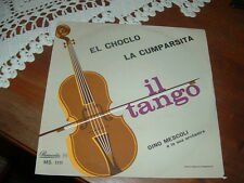 "GINO MESCOLI "" LA CUMPARSITA - EL CHOCLO ""  ITALY'62"