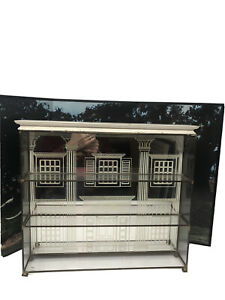 Gone With the Wind Franklin Mint 11 Figurines RARE BACKDROP & Glass Display