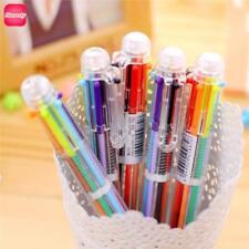 Multicolor Pen For School Kids Multi Color Pencil Ballpoint Cute Writing Tool