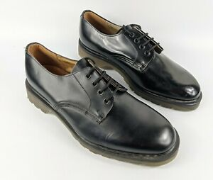 Tredair Black Leather Lace Up Shoes Uk 8 Eu 42