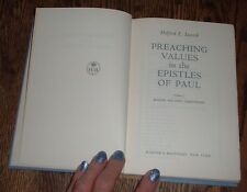 Preaching Values in the Epistles of Paul #1--Halford E. Luccock (1959 hardcover)