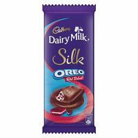 6 x Cadbury Dairy Milk Silk Oreo Red Velvet Chocolate Bar Birthday Kids,60gms