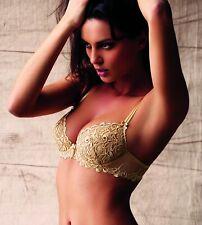 Lise Charmel Macaron Giupure Lace Secret De Seduction Padded Plunge Bra 32B