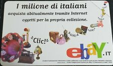 EBAY ITALIA RARE COLLECTIBLES 2004 PHONE CARD NEW MINT CONDITION