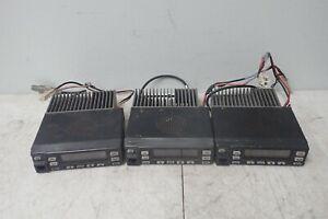 Lot of 3 Kenwood TK-860HG-2 UHF FM Transceivers / Radios