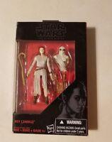 "Star Wars The Black Series REY JAKKU Figure Walmart Exclusive 3.75"""