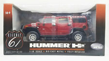 Highway 61 Hummer Maroon 1:18 Rare