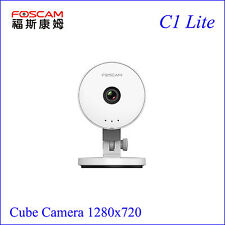 New Foscam C1 Lite HD Baby Monitor 720P Indoor Wireless security  IP Camera P2P