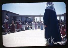 1950s Kodachrome photo slide Vallejo CA Teenage boys and girls school #2