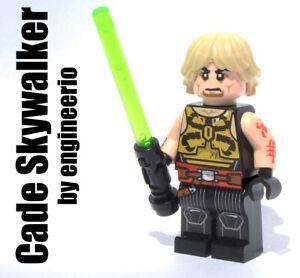 Custom Star Wars Calamari Warrior minifigures on lego bricks