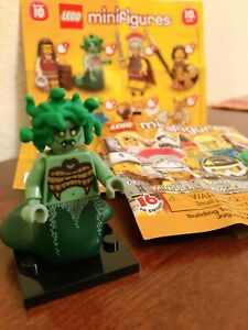 Lego 71001 Rare Minifigure Collectible Series 10 Medusa Complete w/Foil Package