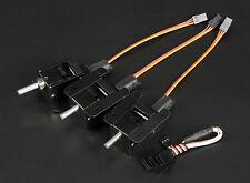 3 Bein Voll Metall Elektrisches Einziehfahrwerk Set  bis 9kg Modell  Pin 5mm