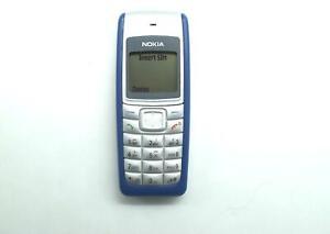 Nokia 1110i Sim Free Unlocked Blue Handset Mobile Cell Phone
