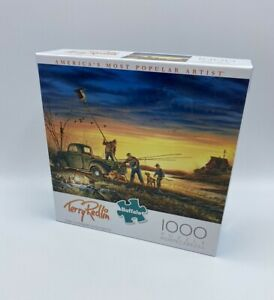 1000 Piece Puzzle The Conservationists Terry Redlin Farming Jigsaw New