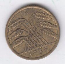 Germany 10 Reichspfennig 1935 A