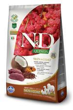 Farmina N/D Quinoa Grain Free Adult All Breed Skin & Coat Cervo Cocco 7 Kg
