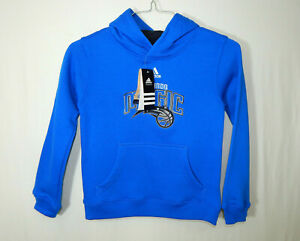 NWT Orlando Magic NBA Basketball Hoodie ADIDAS Size YOUTH SMALL 8 Boys Clothing