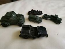 COLLECTION OF LONE STAR DIECAST MILITARY VEHICLES A/F
