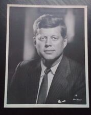 Fabian Bachrach ICONIC Portrait President John F. Kennedy JFK Press Photo 8x10