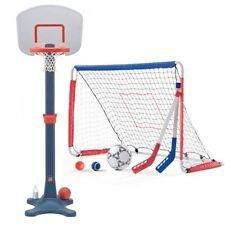 Step2 Kick and Shoot Sports Combo - Kids Basketball Hoop and Soccer Net