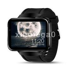 Lemfo LEM4 4GB Bluetooth Wireless SIM WiFi Smart Watch Wrist Phone fr Android US