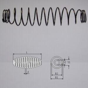 COMPRESSION BARREL SPRING Wire Diameter 0,4mm