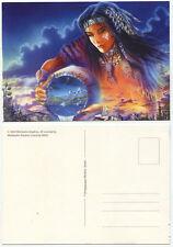 35467 - Indianer-Schamanin - alte Fantasy-Ansichtskarte