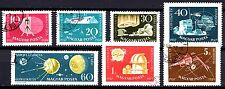 Hungary - 1959 Geophysical year / Space Mi. 1571-77 VFU