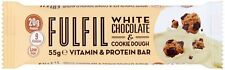 15 X FULFIL White Chocolate & Cookie Dough Vitamin & Protein Bars Best Value!