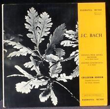 Johann Christian Bach Jean-Chrétien Bach Collegium Aureum HM 30695 LP NM, CV EX