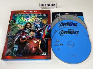 Marvel Avengers 3D - Film Blu-Ray + 3D + DVD (FR, EN) - Complet