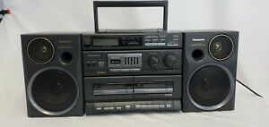 Panasonic RX-DT680 Portable Boombox Radio CD Cassette System For Parts or Repair