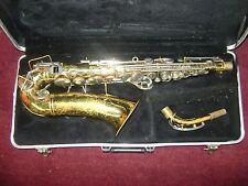 VINTAGE Buescher Aristocrat Alto SAXOPHONE Vintage Reverse Keys w/Case 1960's