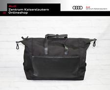 Audi Weekender Schwarz Grau Rindsleder 3151901000 Tasche Reisetasche Urlaub