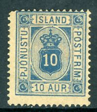 Iceland 1876 Official105a Scott #O6 Mint N975