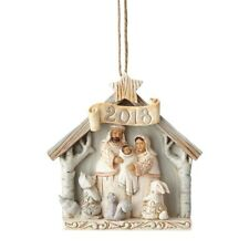 Enesco H8 Heartwood Creek Jim Shore Christmas 2018 Nativity 3.75in Ornament