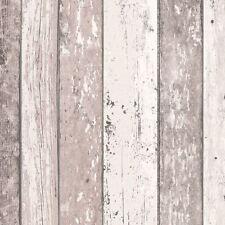 Texturierte Tapeten im Landhaus-Stil fürs Schlafzimmer