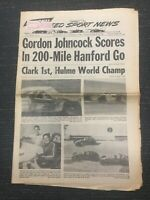 October 25, 1967 - NASCAR - USAC - INDYCAR - Speed Sport News Newspaper