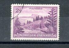 More details for australia - norfolk island 1956 2d ball bay white paper fu