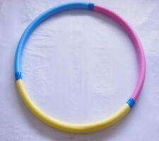 1X Weighted Foam Hula Hoops Exer1X Weighted Foam Hula Hoops Exercise Sports Hoop