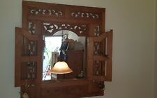 Wohnzimmer Spiegel Holz