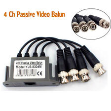 4 Ch Passive Video Balun Transceive BNC UTP RJ45 Coaxial Cable For cctv Camera