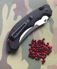 Benchmade Bedlam 860 RED Scale Screws