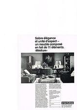 PUBLICITE  1978   INTERLUBKE  meubles