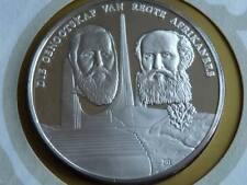 Lot 10 39mm argent reproduction argent médaille AFRIKAAN langue