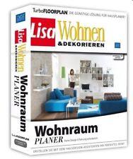 LISA - WOHNRAUM PLANER - PC CD-ROM - NEU & SOFORT