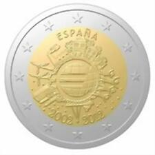 ESPAÑA 2 EUROS 2012 TYE - 10 AÑOS DEL EURO
