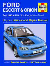Haynes Ford Escort Orion 1.8 1.8TD Diesel 1990-2000 Manual 4081 NEW