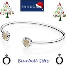 PANDORA BANGLE – PANDORA 19CM SIGNATURE OPEN BANGLE – PANDORA - 596274CZ