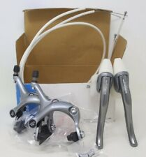 NOS SHIMANO EXAGE 550EX BRAKESET SYSTEM CALIPERS LEVERS CABLES BRAKES VINTAGE